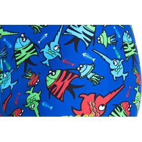 Zoggs Sea Saw Hip Racer Spodenki kąpielowe Dzieci niebieski